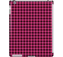 Pattern picnic tablecloth  iPad Case/Skin