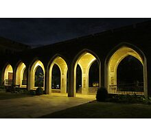 Nighttime Arches Photographic Print