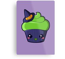 Spooky Cupcake - Wicked Witch Metal Print
