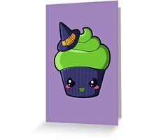 Spooky Cupcake - Wicked Witch Greeting Card