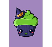 Spooky Cupcake - Wicked Witch Photographic Print