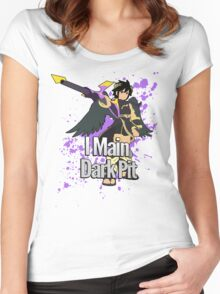 I Main Dark Pit - Super Smash Bros Women's Fitted Scoop T-Shirt
