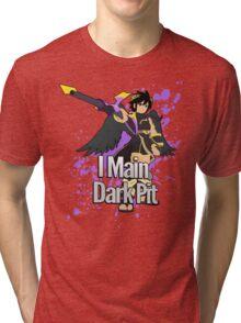 I Main Dark Pit - Super Smash Bros Tri-blend T-Shirt