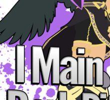 I Main Dark Pit - Super Smash Bros Sticker