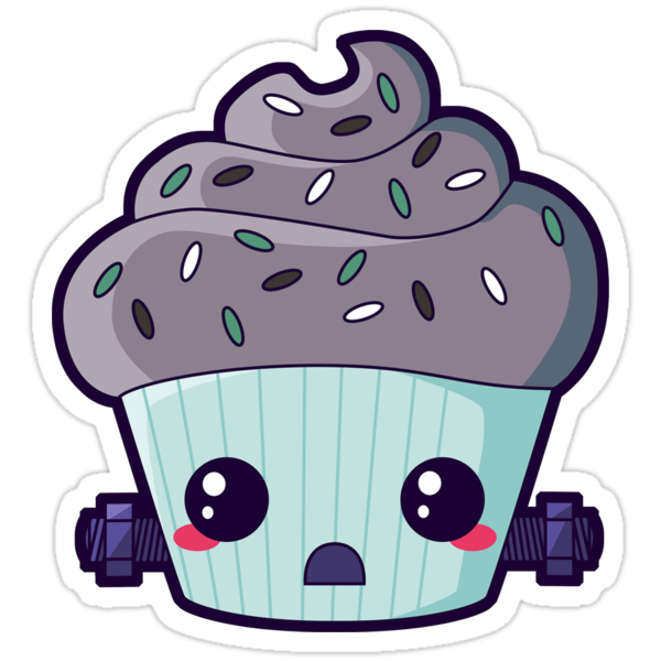 Spooky Cupcake - Frankenstein's Monster by pai-thagoras
