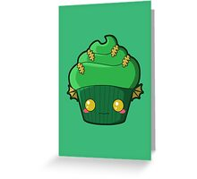 Spooky Cupcake - Swamp Thing Greeting Card