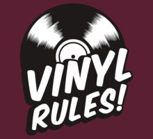 Vinyl Rules! by Cheesybee