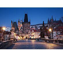 Prague Blues Photographic Print