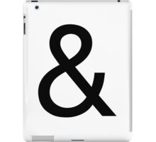 Ampersand (Helvetica Neue) iPad Case/Skin