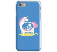 The Truth About Unicorns [Blue] iPhone Case/Skin