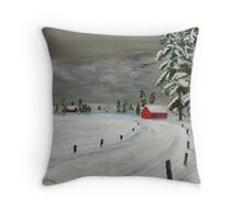 Squall Line Throw Pillow