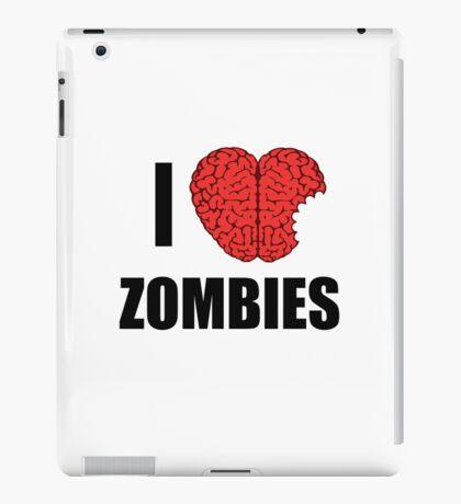 I Shotgun Zombies/ I Heart Zombies  iPad Case/Skin