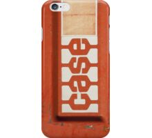 Red Case iPhone Case/Skin