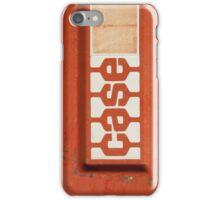 Red Case iPhone Case/Skin