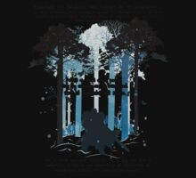 Snow at Forest by Nxt Design