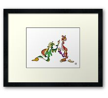 And another thing Framed Print