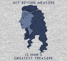 Wit beyond measure is man's greatest treasure by aribh