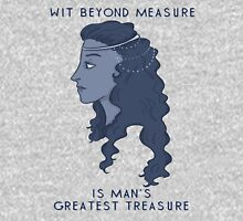 Wit beyond measure is man's greatest treasure Womens T-Shirt