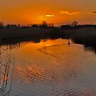 Sunset in Renesse by Adri  Padmos