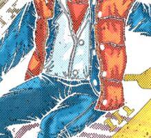 Michael J Fox Sticker