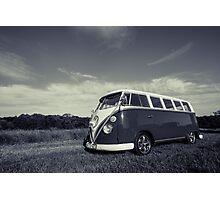 Classic Volkswagon Campervan no. 3 Photographic Print