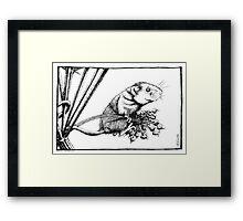 Harvest Mouse Framed Print