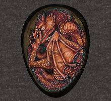 Red Baby Dragon in Egg Unisex T-Shirt