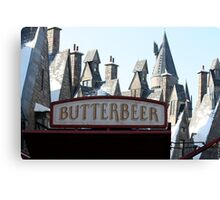 Butterbeer in Hogsmeade Canvas Print