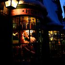 Hogsmeade at Night by Asteriidae