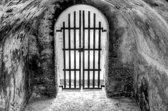 Historical Places of Nassau, The Bahamas: The Gate at Fort Montagu by 242Digital