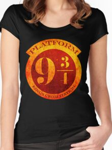 Platform 9 3/4 Women's Fitted Scoop T-Shirt