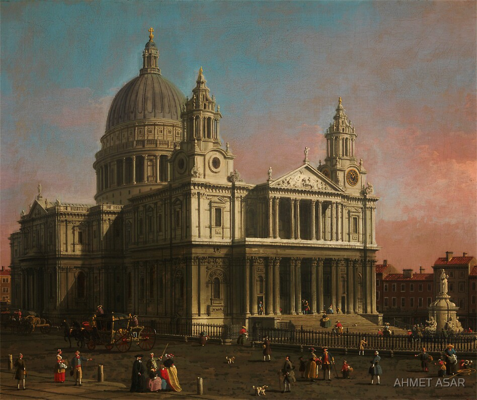 Canaletto   St. Paul's Cathedral by MotionAge Media