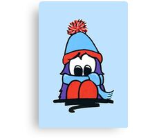 Bert - Christmas - All Wrapped Up Canvas Print