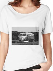 Classic Volkswagon Campervan no. 4 Women's Relaxed Fit T-Shirt