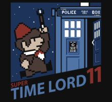 Super Time Lord 11 Kids Tee