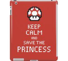 Keep Calm And Save The Princess iPad Case/Skin