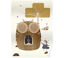 My Owl and Me Poster