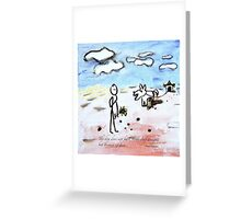 barking Greeting Card