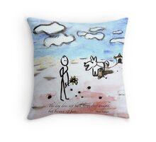 barking Throw Pillow