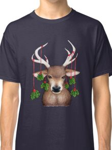 Stag with Holly Classic T-Shirt
