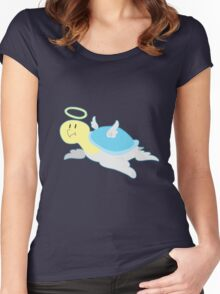 Angel Turtle Women's Fitted Scoop T-Shirt
