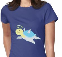 Angel Turtle Womens Fitted T-Shirt
