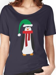 Cute Holiday Penguin Women's Relaxed Fit T-Shirt