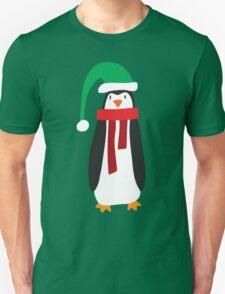Cute Holiday Penguin Unisex T-Shirt