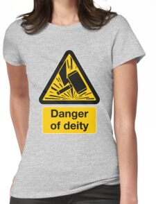 Danger of Deity Womens Fitted T-Shirt