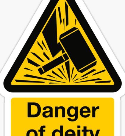 Danger of Deity Sticker
