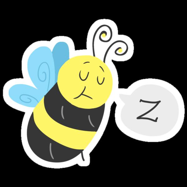 Sleepy Bee by SaradaBoru