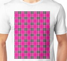 Seamless pattern tartan Unisex T-Shirt