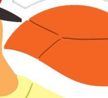 Mustache Turtle Sticker