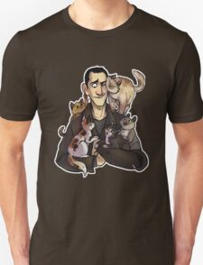Nine with cats T-Shirt